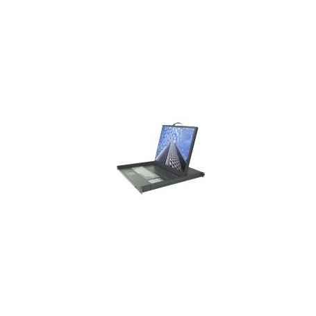 "1U Console Drawer 19"" : LDS410D-8P"
