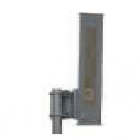 HPOL Sector Antenna, Single Attach Galvanized Steel Bracket 16.5dBi 95 Deg 2.4GHz : SAH24-16-G