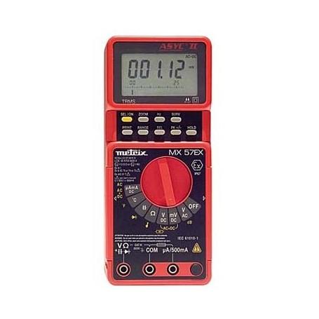 Multimètre portable ATEX 50 000 pts : MX 57Ex
