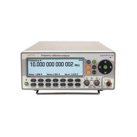 CNT91 : Compteur - fréquencemètre plus rapide et plus de mémoire que le CNT90