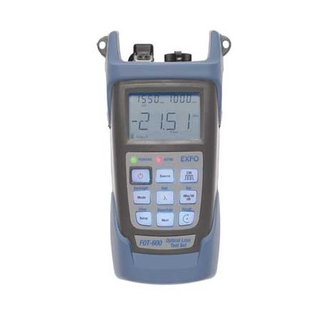 Mesureur d'atténuation pour fibre optique à forte dynamique : FOT600