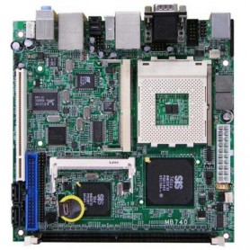 AMD Geode NX Mini ITX Motherboard : MB740