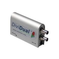 Enregistreur + analyseur + player MPEG-2 TS ASI/SPI en USB2.0 : DiviDual ASI / SPI