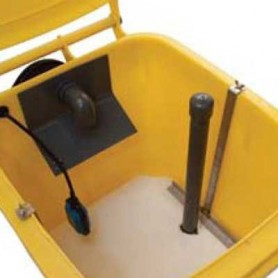 Filtre pour éliminer l'huile restante : Septa Scrubber