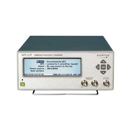Standard de fréquence contrôlé par GPS : GPS12R