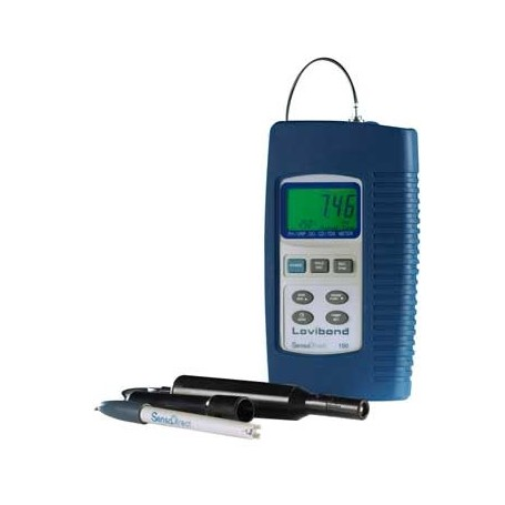 Analyseur combiné pH/Redox - Oxygène dissous - Conductivité/TDS et température : Sensodirect 150