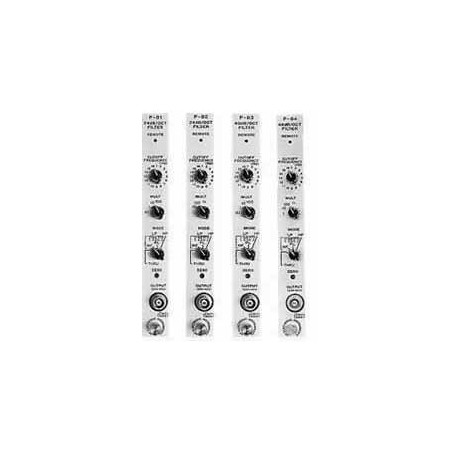 MS-500 series : 24dB/oct Filter · 48dB/oct Filter : P-81