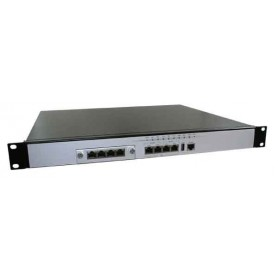 Mid Level Intel EP80579 Based Network Appliance w/ 8 GbE Ports : FWA7108