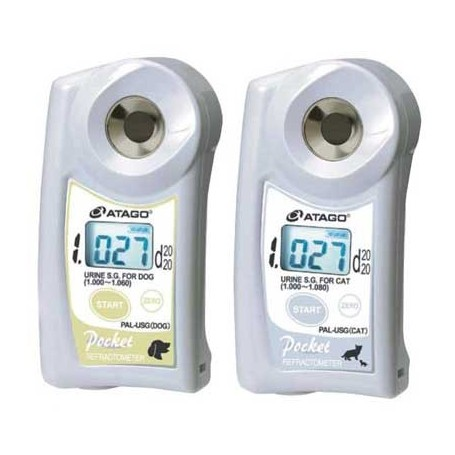 Réfractomètre numérique urine chien / chat : Pal USG