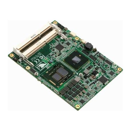 COM Express CPU Module with Onboard Intel Core i7/ i5/ i3/ Celeron (Arrandale+ECC) Processor : COM-QM57/HM55