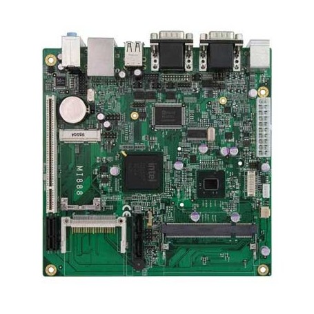 Intel Atom Mini-ITX Motherboard with Intel 945GSE Chipset : MI812