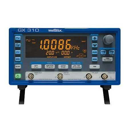 Générateurs - fréquencemètres de 0,001 Hz à 10 MHz ou 20 MHz : GX310 / GX320