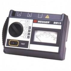 Isolamètre analogique piles et magnéto, 500 à 5000 V : Megger BM15 & MJ15
