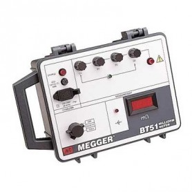 Milliohmmètre pour mesures de continuité : Megger BT51