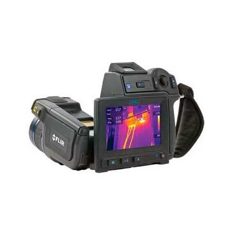FLIR T640 : Sensibilité thermique 40 mk - jusqu'à +2000 °C