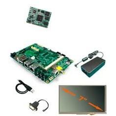 """Kit de développement ARM pour applications graphiques - Ecran 7"""" : Twisterpack-XL"""