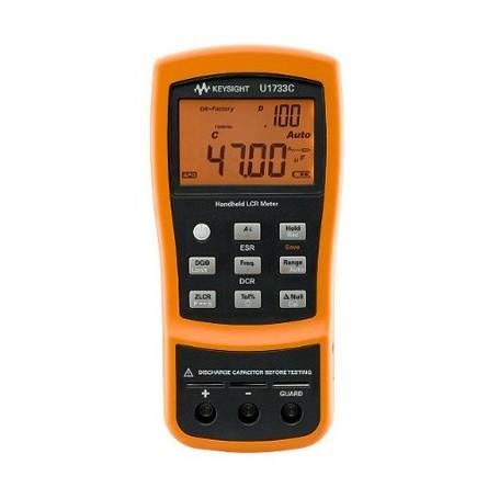 Pont RLC portable 100Hz / 120Hz / 1kHz / 10kHz / 100kHz : U1733C