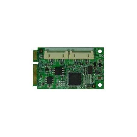 PCI Express Mini Card supports 2 x SATAIII (RAID 0, RAID 1) : MPX-9125