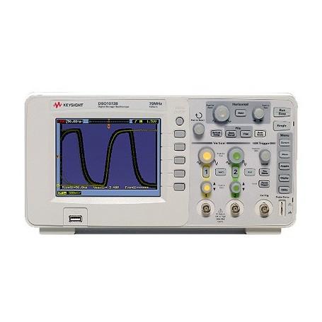 Oscilloscope Numérique 070MHz - 2 voies : DSO1072B