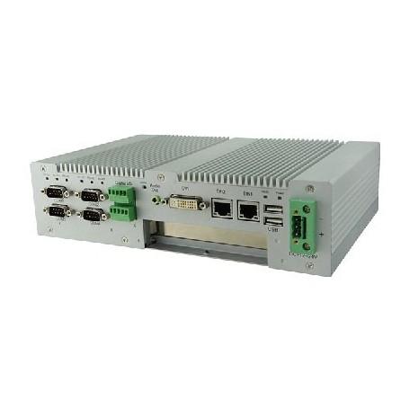 Intel Atom Processor D2550 Based Fanless System : AMS100-807