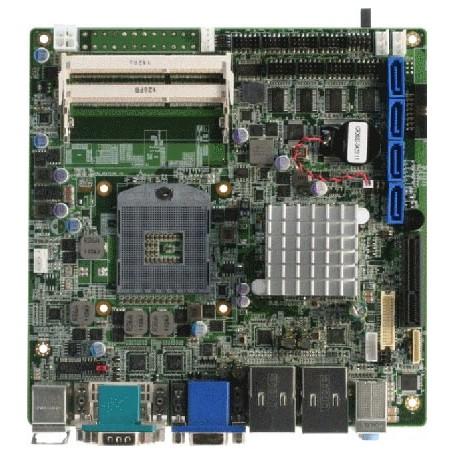 Embedded Motherboard with Socket G2 (rPGA988B) 2nd Generation for Intel Core i7/ i5/ Celeron QC/ DC Processor : EMB-QM67