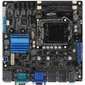 Mini-ITX Embedded Motherboard with Intel 2nd/3rd Generation Core i7/ i5/ i3 Processor : EMB-H61B