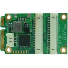 PCI Express mini card support 32-bit GPIO : MPX-24794G2