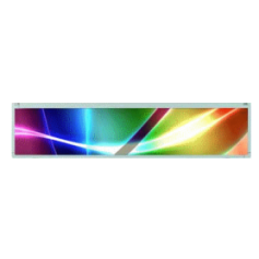 "28""Resizing LCD,500 nits LED backlight, 1920x357 ratio 16:3 : SSF2843"