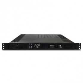 "19"" 1U Rack-mount Intel QM77 Fanless Rugged System Intel Core i7/i5/i3 : ROC235B"