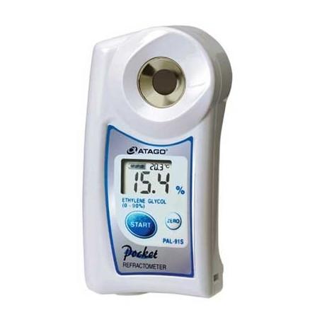 Réfractomètre numérique éthylène glycol : point de congélation PAL-91S