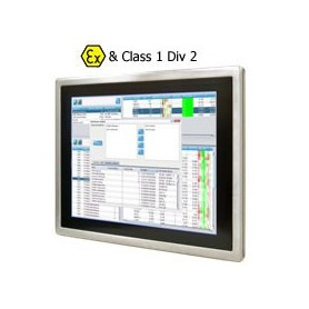 "Panel PC ATEX 15"" Intel Atom Dual Core N2600 1.6GHz : R15ID3S-65FTE"