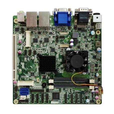 Intel Cedarview D2550 Mini-ITX Industrial MB, Wide Temp. -20 to 70°C : INS8321B
