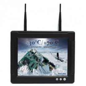 """Vehicle Mount Terminal with 12.1"""" TFT LCD IP65, Wide Temp. -30 to 70°C : RVT1216A"""
