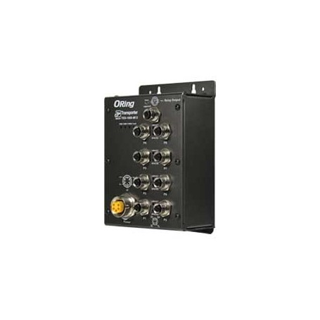 Switch transport EN50155, 8 ports : TES-1080-M12