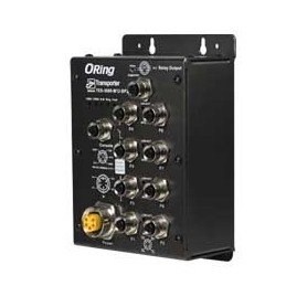 Switch transport EN50155, 8 ports : TES-3080-M12-BP2