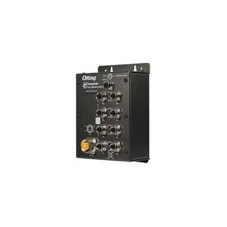Switch transport EN50155, 8 ports : TES-1080-M12-BP2