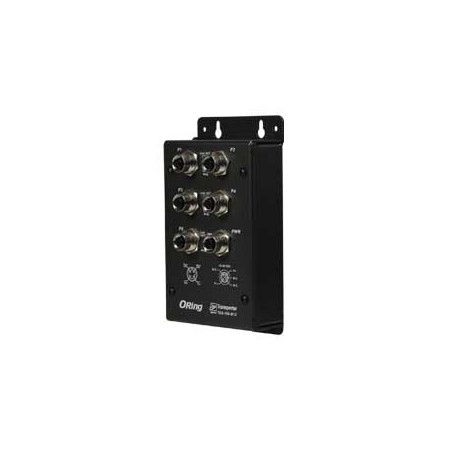 Switch transport EN50155, 5 ports : TES-150-M12
