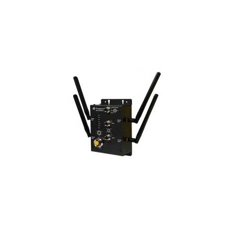 Wireless access point with 2x10/100Base-T(X), M12 connector : TAP-3120-M12