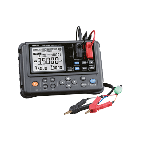 Milliohmmètre portable mesure en 18ms : RM3548