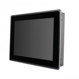 18.5'' ATOM D2550 fanless avec dalle tactile capacitive projeté anti vandal : ASTUT-1811S-PC