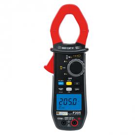 Pince multimètre 600A TRMS AC+DC : F205