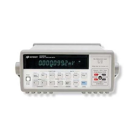 Multimètre Nanovoltmètre 7,5 digits : 34420A