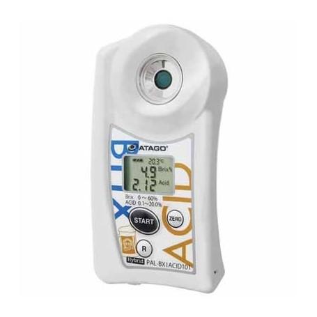 Réfractomètre numérique brix acidité pour bière : PAL-BX-ACID101