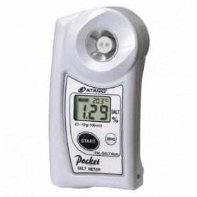 Refractomètre numérique salinité : PAL-SALT Mohr