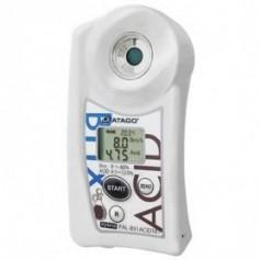 Réfractomètre numérique combiné brix acidité acétique vinaigre : PAL-BX-ACID181