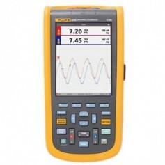 Oscilloscope portable 40 MHz avec mesures électriques et harmoniques : ScopeMeter Fluke 125B