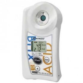Réfractomètre numérique acidité bière : PAL-EASY-ACID101