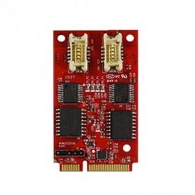 USB 2.0 Isolated RS-232 DB-9 x 2 : EMU2-X2S1
