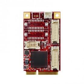 PCI Express 2.0 x 1 RS-232/422/485 DB-9 x 4 : EMP2-X401