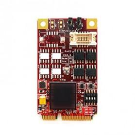 PCI Express 2.0 x 1 RS-422/485 DB-9 x 2 : EMP2-X202